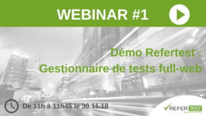 Webinar#1 _ demo Refertest
