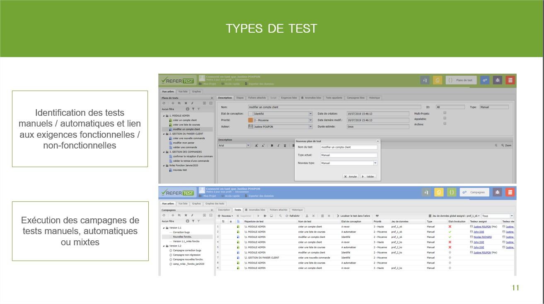 types tests